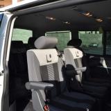 Салон микроавтобуса Volkswagen Multivan - Аренда, прокат, трансфер